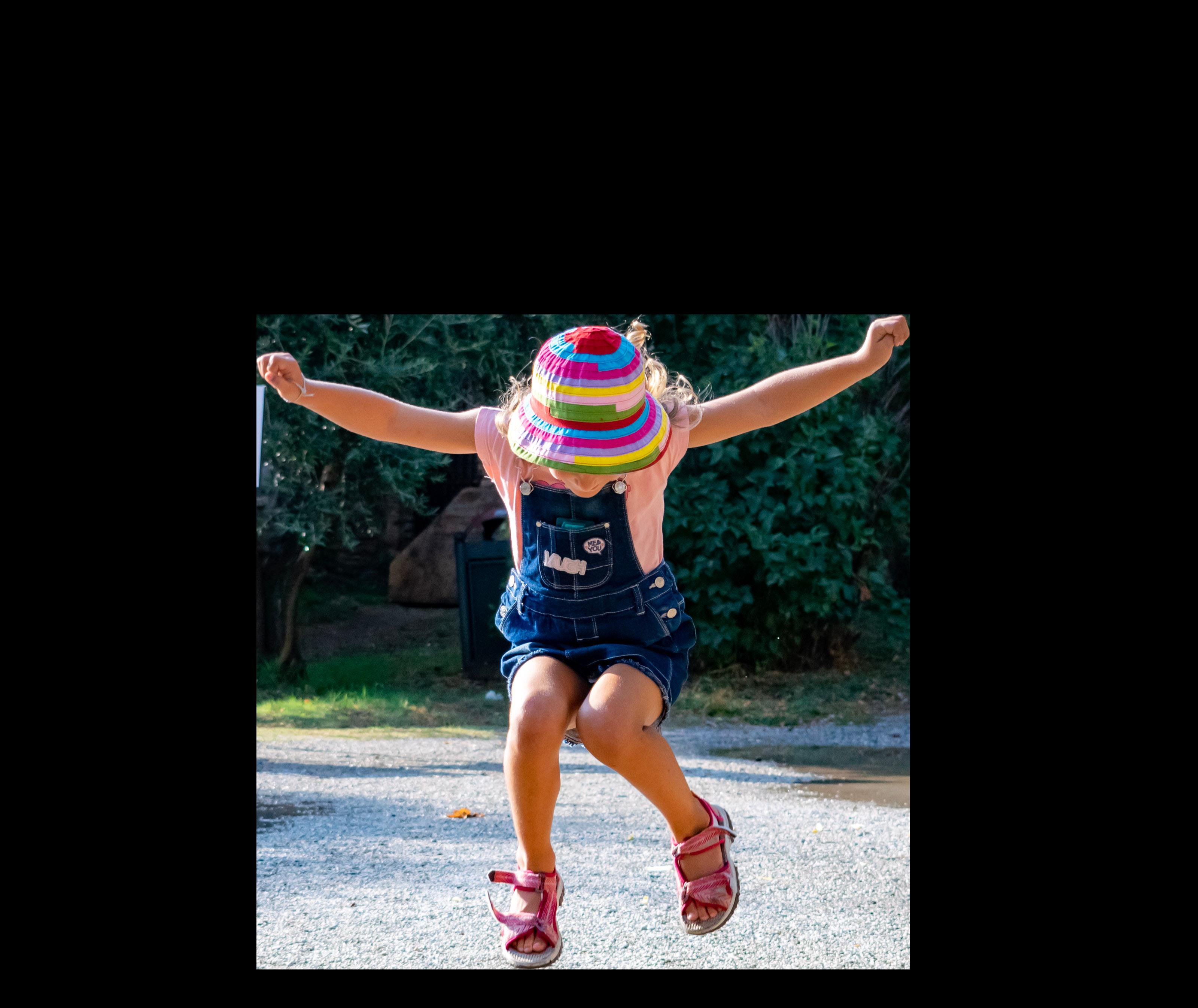 Tonis Hüpfburg - Springendes Mädchen